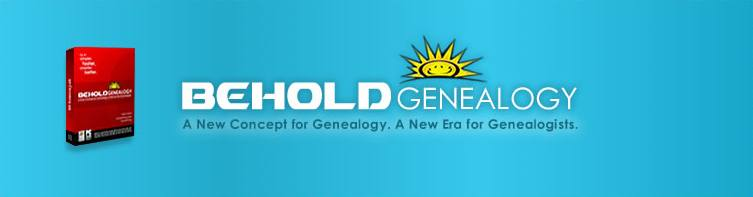Behold Genealogy Software
