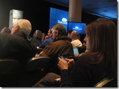 Audience at Keynote Session