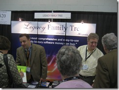 Legacy Family Tree booth