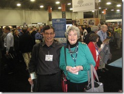 With Jan Gow at RootsTech