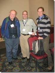 Jim Raleigh, Robert Burkhead and Ryan Heaton