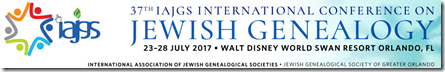 37th IAJGS Conference