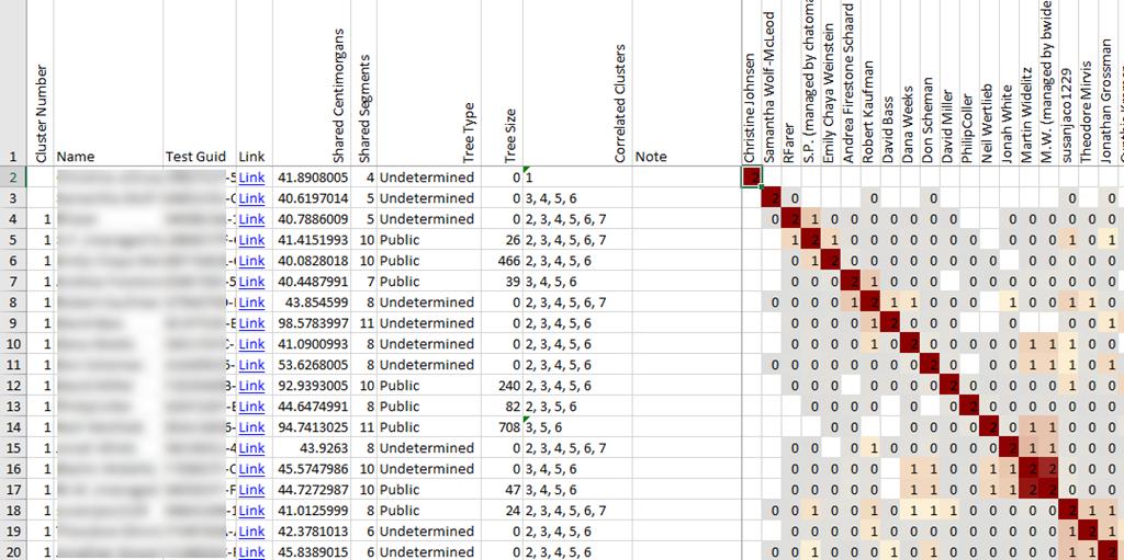 Genetic Clusters and DNAGedcom « Louis Kessler's Behold Blog