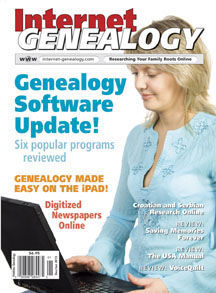 Internet Genealogy Current Issue